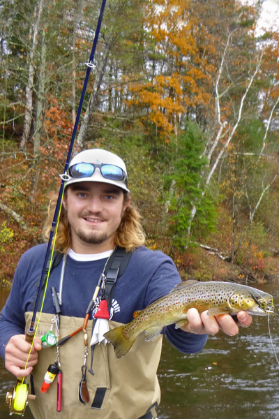Blue Heron Fly Fishing - Solon Brown Trout